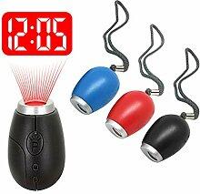 YUXIANGSHANGMAO Mini Digital Projektionsuhr LED