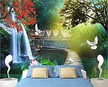 Yuxua 3D Tapete Hintergrundbild Walllpaper Senior