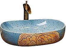 Yuye Badezimmer über Aufsatzwaschbecken Oval