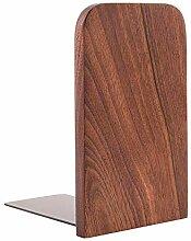 YuYzHanG Buchstütze 2 / Bag Holz Nussbaumholz