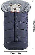 Yves25tate Winter-Fußsack Für Kinderwagen,