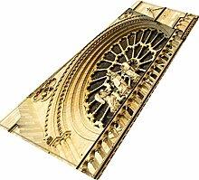 YWLINK Notre Dame De Paris FußMatte Teppiche Mit