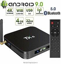 YWT Android 9.0 Fernsehkasten, TX6 Android