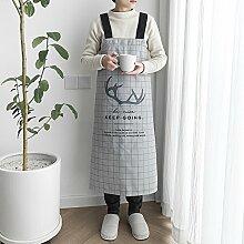 YWWHLM Liebhaber Ärmellosen Schürze Küche