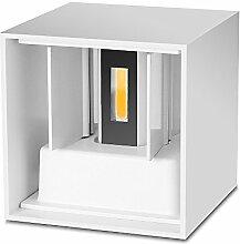 YWX COB LED-Wandlampe, 6 W, wasserdicht,