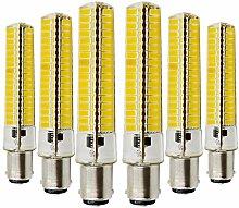 YWX Light BA15D LED Silikonlampe 5730 SMD 136LED