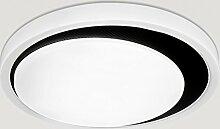 Ywyun Moderne minimalistische LED-Deckenleuchte,