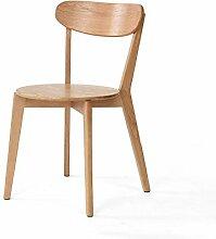 YX SHOP® Esszimmerstuhl aus massivem Holz,