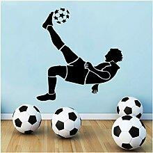 YXBB Fußball wandaufkleber Junge Schlafzimmer