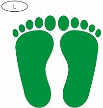 YXGS Kleine Fußabdrücke Aufkleber