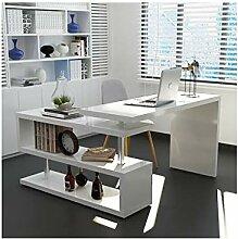 YXHUI Computer-Schreibtisch, Desktop-Ecke