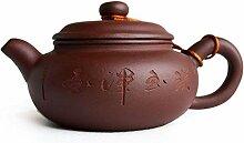 Yxhupot Chinesische Yixing-Teekanne, 198 g, echte