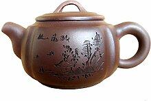 Yxhupot Chinesische Yixing-Teekanne, 204 g,
