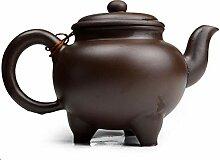 Yxhupot Chinesische Yixing Teekanne mit drei
