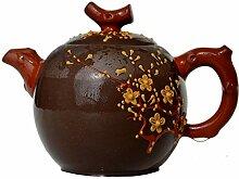 Yxhupot Teekanne, 270 ml, chinesischer Yixing-Ton,