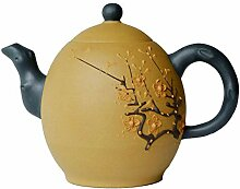Yxhupot Teekanne, 327 ml, chinesischer Yixing-Ton,