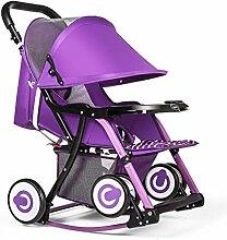 YXINY Kombikinderwagen Kinderwagen Kann Sitzen
