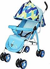 YXINY Kombikinderwagen Kinderwagen Leicht Kann