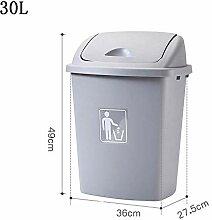 YXNN Outdoor Mülleimer 40L Shake Cover Küche Mit