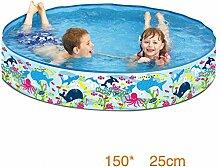 Yxr Aufblasbarer Kinder-Schwimmbecken, für