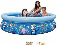 yxr aufblasbarer Kinder-Schwimmbecken, für zu