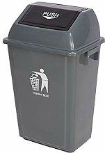 Yxsd Große Mülleimer Kunststoff, Outdoor Flip