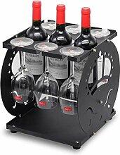 Yxsd wine rack Weinregal für Stielgläser,