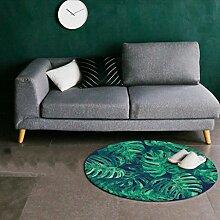 Yxx max Teppich, rund, Nordeuropa, grüner