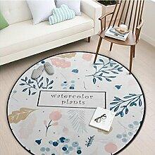 Yxx max -Teppich Runder Teppich, Schlafzimmer