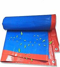 YXX- Regendichtes Tuch Plane Heavy Duty Verdicken Wasserdichte Konservierungsmittel Falle Bodenplane Schuppen Tuch Sonnenschutz Zelt Splice Markise Sonnenblende Visier Outdoor-Orange, 180G/M²