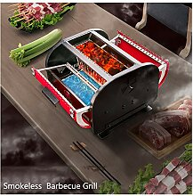 YXYLD Barbecue Grill,3 Seiten Grillbar New