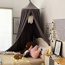 YXZN Kinderzimmer Himmelbett Dome Einfarbig