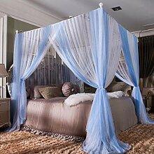 YY-zxf Lace Betthimmel für Doppelbett,