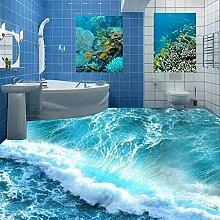 YYBHTM Mural 3D Ocean Ocean Ocean