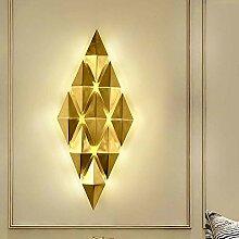 YYBQ LED Post-Moderne Wandlampe Licht Wohnzimmer