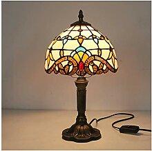 YYF Mediterrane beige Barocklampe - Wohnzimmer