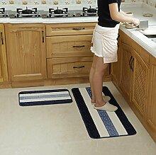 YYF Teppich Teppich Tür Küche Badezimmer mit