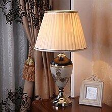 YYF Tischleuchte Moderne Wohnzimmer Schlafzimmer Nachttischlampe Glaslampe Lampe Tischleuchte
