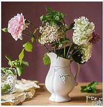 YYFANG Gartenregal, Blumentopf aus weißem