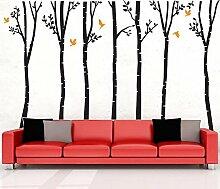 YYH Großer Baum Wandaufkleber PVC Abnehmbar Wandtattoo zum Mädchen und Jungen Kinderzimmer Kindergarten Dekor Vinyl Tapete Tapeten