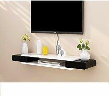 YYHSND Wand TV-Schrank TV-Rack Set-Top-Box-Regal
