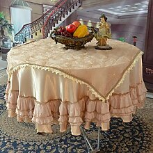 YYHSO Baumwoll-tischdecke,Stoff Nach Hause Rechteckigen Wei?en Durchbrochenen Tuch,Ein Quadratmeter Wohnzimmer Couchtisch Tuch-B 60x120cm(24x47inch)
