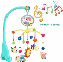 YYINHUI Baby Musik-Mobile,Rassel aus Kunststoff