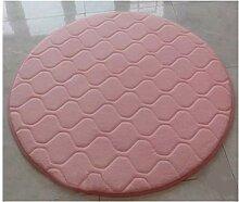 YYJF Runder Teppich verdicken einfaches