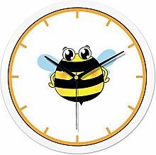 YYL Stumm Die Minimalistische Uhr,Kinderzimmer Kinderzimmer Wanduhr,Wohnzimmer Ideen Personalisierte Wanduhr-L 10Zoll
