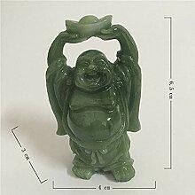 YYMMQQ Statue Skulptur Happy Maitreya Buddha