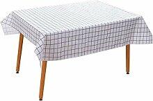 Yymxnb Kunststoff-Tischdecke, bedruckt, Farbe