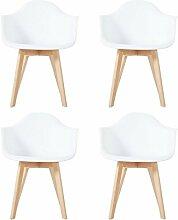 YYSD 4er Set Stuhl Esszimmerstühle Küchenstühle