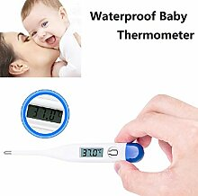 yyxxzqw Digitales Baby-LCD-Thermometer,