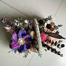 YYYzhx Unsterbliche Blumenkorb Frischhaltekorb